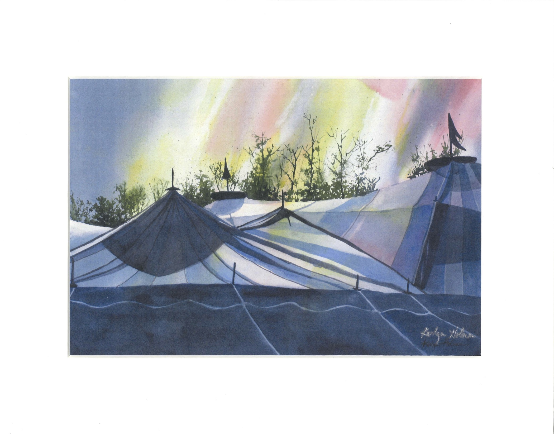 Big Top Chautauqua  11x14 Watercolor Print  sc 1 st  Big Top Chautauqua & Big Top Chautauqua